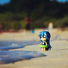 Kona-Kona goes to the beach  – Lucky Star
