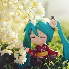 Miku Spring days~ 😜🌹🌷🌸🌻🌺