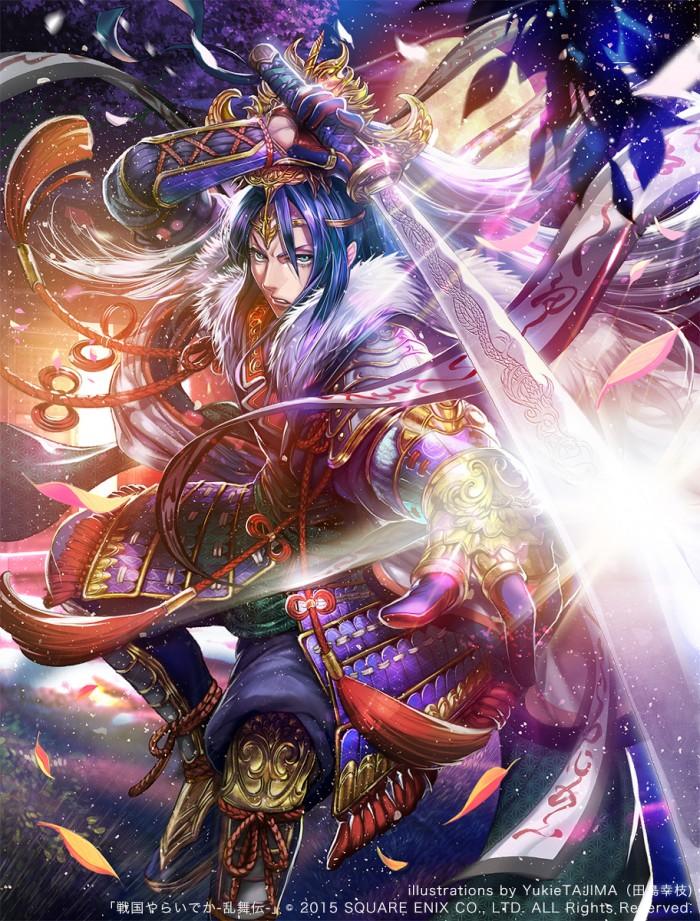 Sengoku Yaraideka fan art【戦国やらいでか】長尾景虎   「戦国やらいでか-乱舞伝-」
