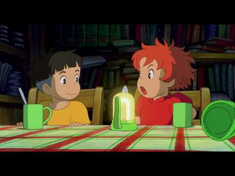 Ponyo Official English Language Trailer from Disney