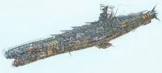 Space Battleship Yamato cutaway