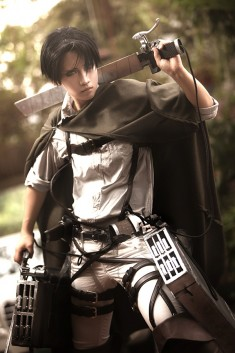 cosplay: Levi of Attack on Titan