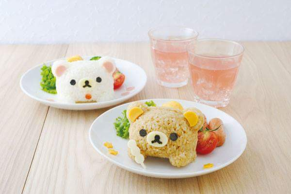 Rilakkuma Rice Mold Set