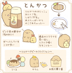 Sumikko Gurashi Characters Description