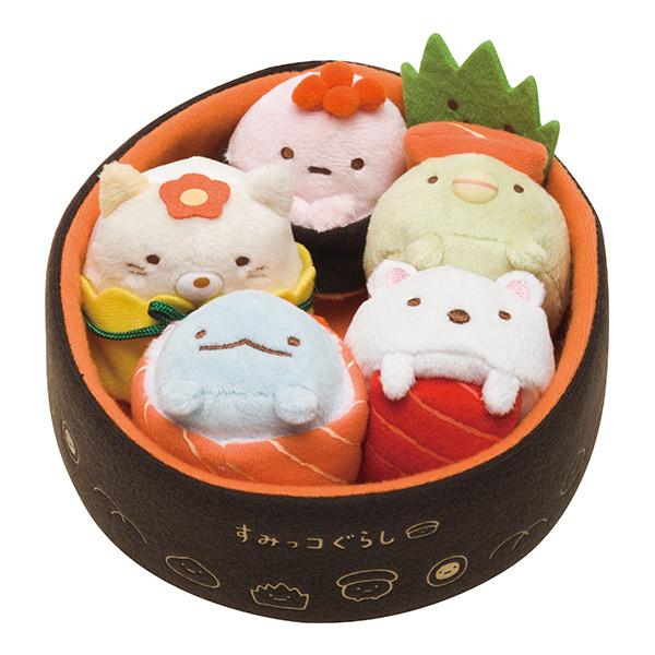 Sumikko Gurashi Sushi Series Plush Set