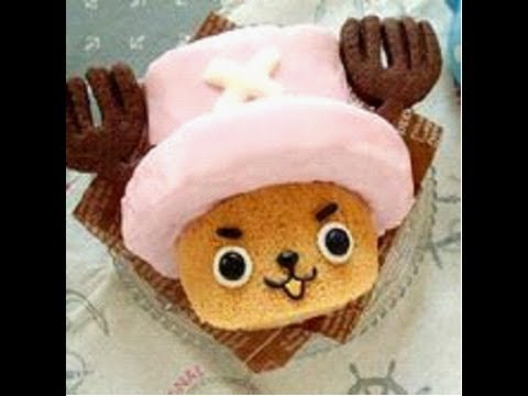 Roll cake of Chopper from ONE PIECE – YouTube video