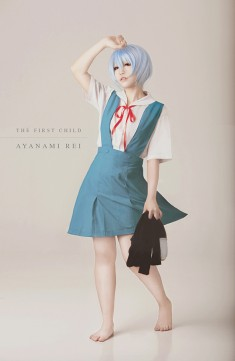cosplay: Ryeain as Rei Ayanami of Neon Genesis Evangelion