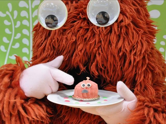 今日ガチャピンたちが、わたくしのケーキを作るんですって~。みんな~、かわいく作ってね~! プロペ ...