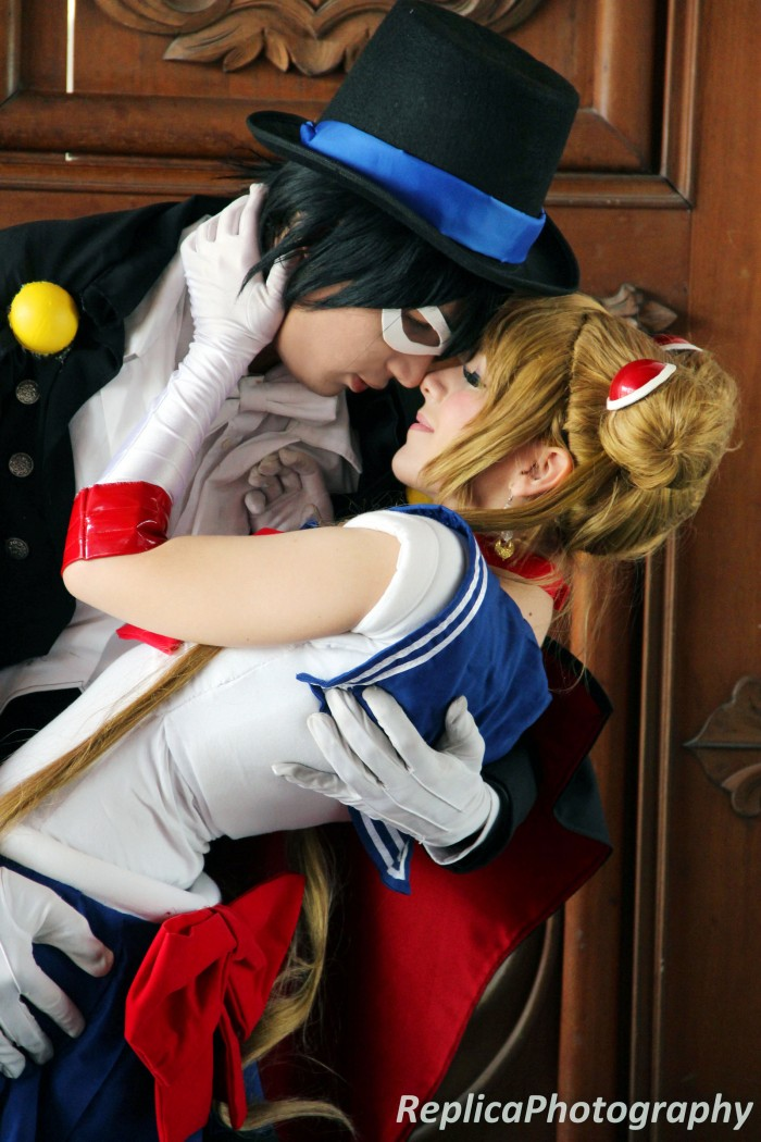 It is REAL LOVE! Sailor Moon and Tuxedo Mask cosplay – Love by SailorMappy on DeviantArt