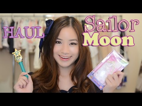 Sailor Moon Haul from JAPAN | KimDao – YouTube video