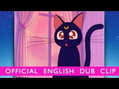Sailor Moon – OFFICIAL DUB CLIP- Luna Appears! – YouTube video