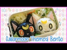 Sailormoon Themed Bento (ft LittlesurprisesYT) セーラームーンキャラ弁 の作り方 – YouTube  ...