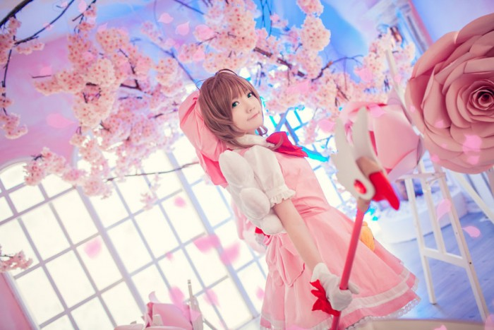 CLAMP cosplay: Sakura Kinomoto by studioK2 on DeviantArt