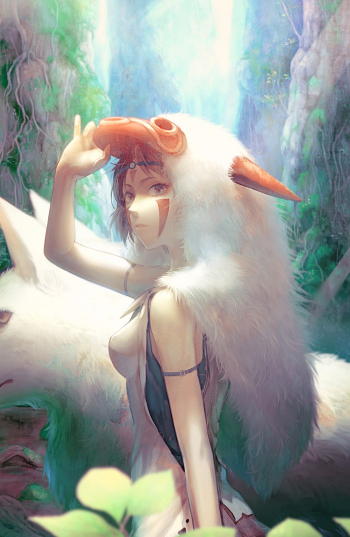 Princess Mononoke fan art もののけ姫  SEVENTH HEAVEN — 「もののけ姫」/「狼屋」の作品 [pixiv] #pi ...