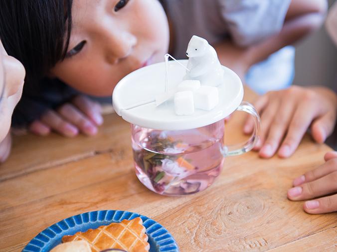 Shirokuma Tea Bag Holder Makes Steeping Tea More Fun   Spoon & Tamago