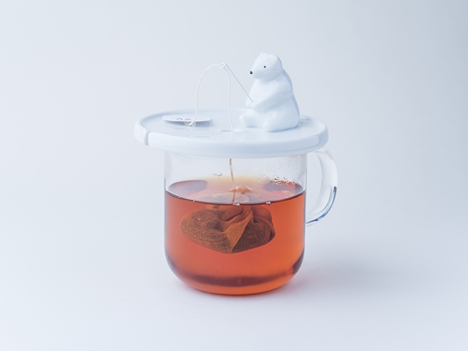 Shirokuma Tea Bag Holder Makes Steeping Tea More Fun | Spoon & Tamago