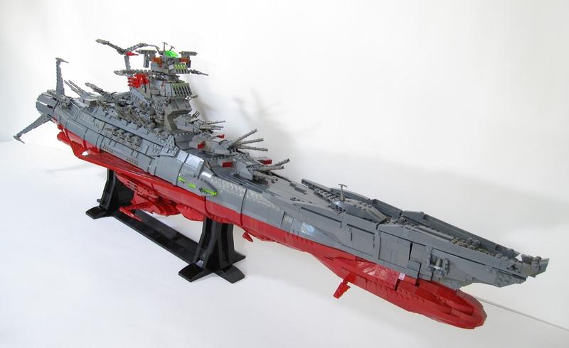 LEGO Space Battleship Yamato by Mark Rodrigues
