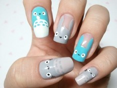 My Neighbor Totoro fingernails! となりのトトロ
