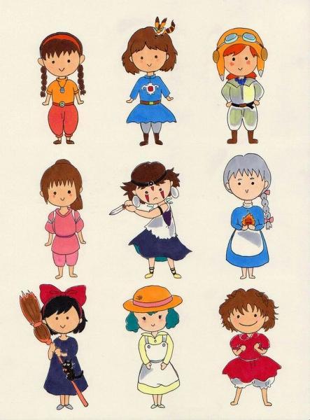 Favorite characters: The ladies of Studio Ghibli