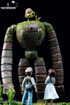 Studio Ghibli Diorama Scene #1 : Laputa: Castle In The Sky. Built, Modeled, and Painted by Dan M ...
