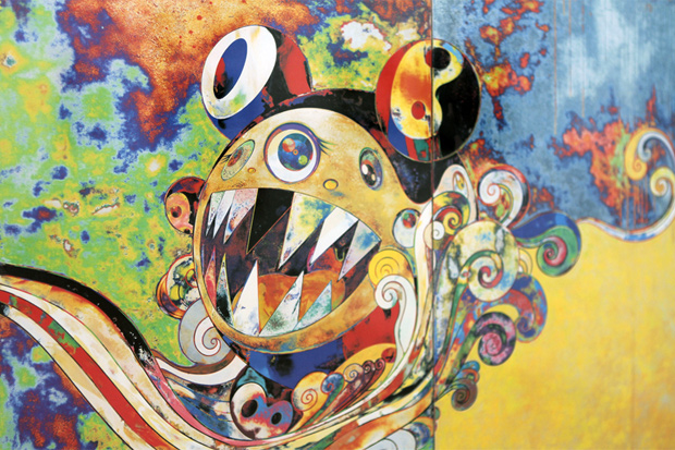 a Takashi Murakami painting