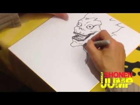 ▶ Takeshi Obata: NY Comic-Con 2014 Sketches – YouTube