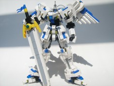 LEGO Tengen Taishi mecha by Phong Chang