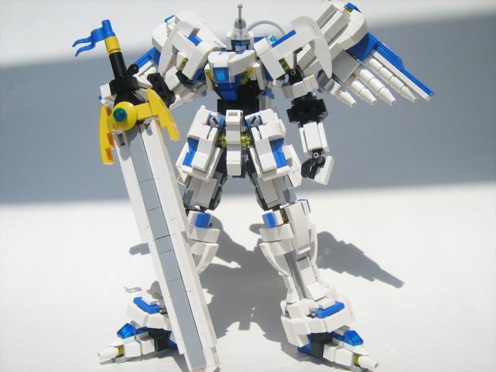LEGO Tengen Taishi mecha by Phong Chang