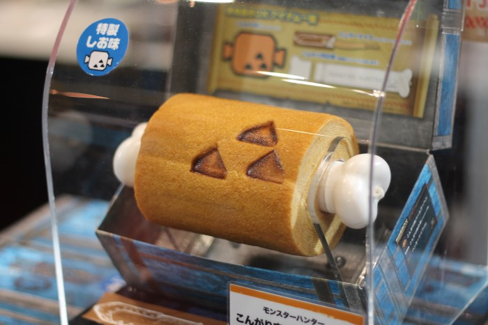The Coolest and Weirdest Things for Sale at the 2014 Tokyo Game Show: Cartoon Meat Shank Cake |  ...