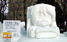 The 65th annual Sapporo Snow Festival recently went underway in Hokkaido, Japan