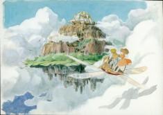 Laputa (Castle in the Sky) concept art