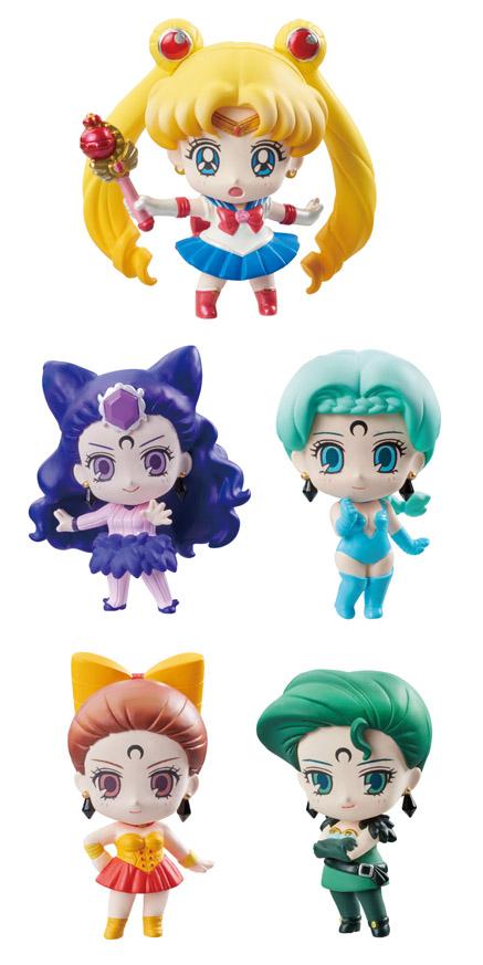 The Sailor Moon Spectre Sisters via sailor moon collectibles