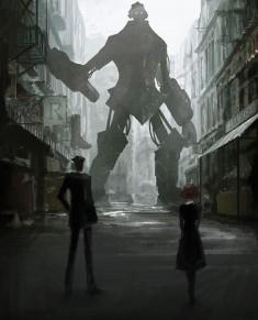 the slums — THE ビッグオー fan art