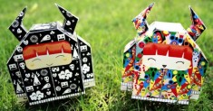 The Viking Girl de Dikids (x 2) | Papertoys, Papercraft & Paper Arts