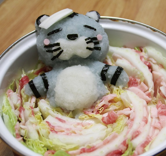 This Winter Keep Warm With Grated Daikon Radish Sculptures in Your Nabe   Spoon & Tamago