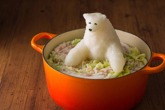 This Winter Keep Warm With Grated Daikon Radish Sculptures in Your Nabe | Spoon & Tamago
