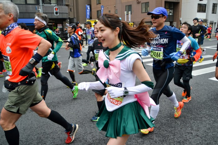 Tokyo Marathon Brings out the Cosplayers | AkihabaraNews