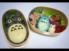 My Neighbor Totoro bento tutorial – YouTube