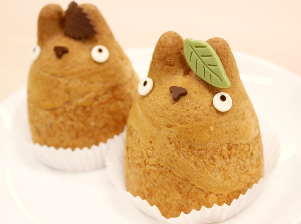 Totoro cream puffs hold a charming surprise at Miyazaki-themed cafe
