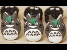 How to make Totoro Macaroon Cookies – Nerdy Nummies – YouTube