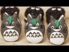 How to make Totoro Macaroon Cookies – Nerdy Nummies – YouTube
