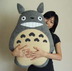 Totoro Pillow by melkatsa on DeviantArt