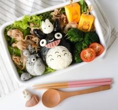 Kawaii Totoro Bento