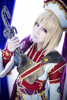 cosplay: Trinity Blood-Ion Fortuna by quatre2323