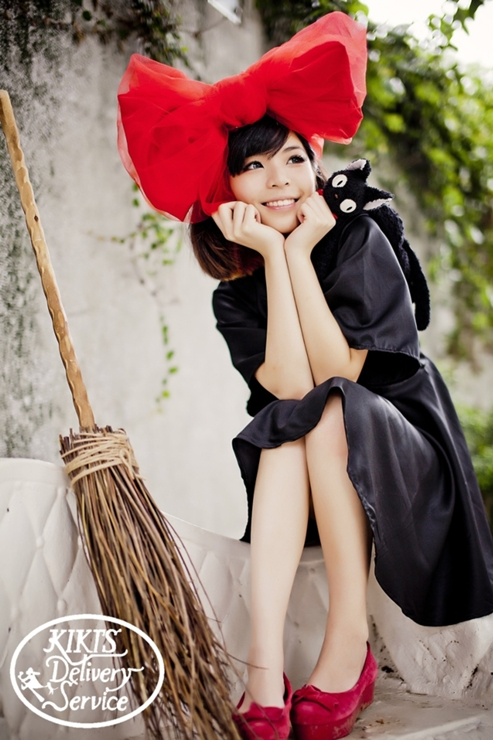 Kiki's Delivery Service cosplay 魔女の宅急便