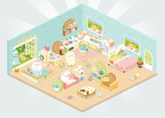 Sumikko Gurashi is now on Line Play~~