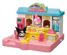 My Melody's sushi bar (also w Kuromi)