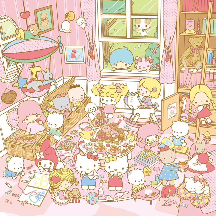 Sanrio Friends:)