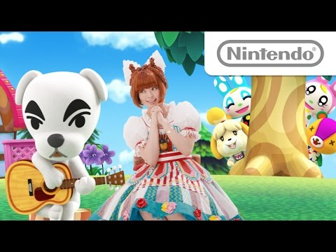Animal Crossing: New Leaf commercial with Kyary Pamyu Pamyu とびだせ どうぶつの森 TVCM 特別篇(弾き語り) – YouTube