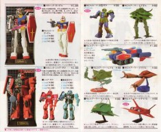 vintage gundam toy ad from japan